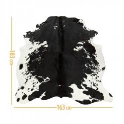 Коровья шкура черная с белым