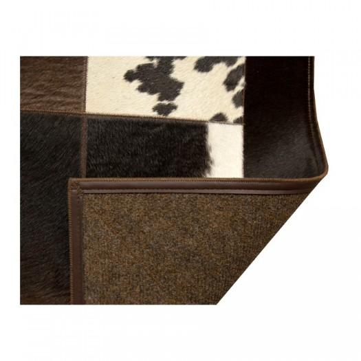 "Ковер из коровьей шкуры темно-коричневый ""K-0045-1"""