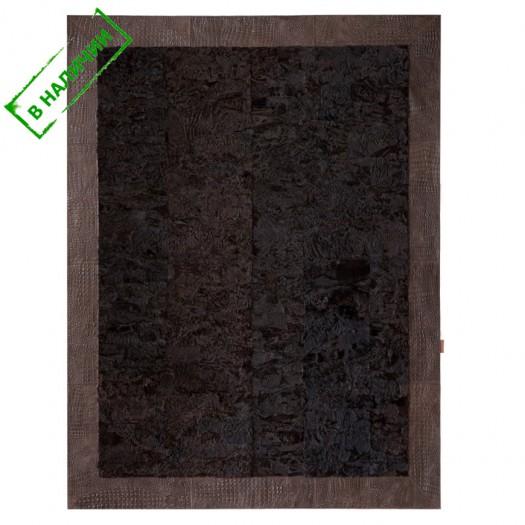 Ковер из меха свакара темно-коричневый