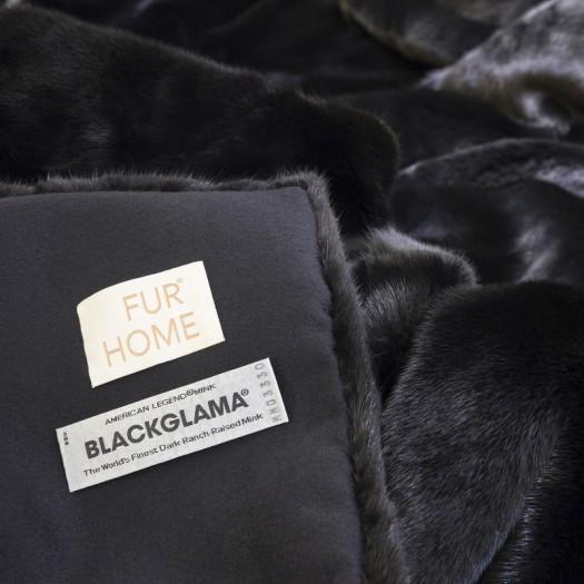 Покрывало из меха норки Blackglama