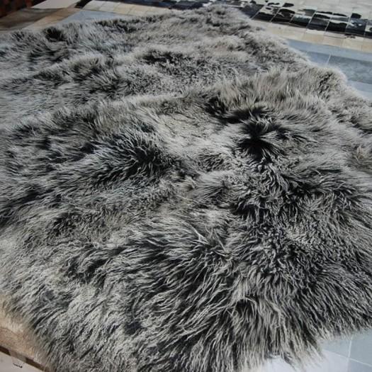 Покрывало из меха монгольской овчины