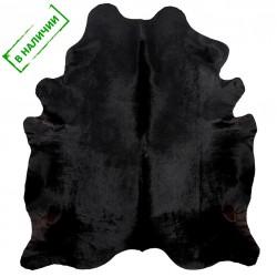 Коровья шкура черного цвета
