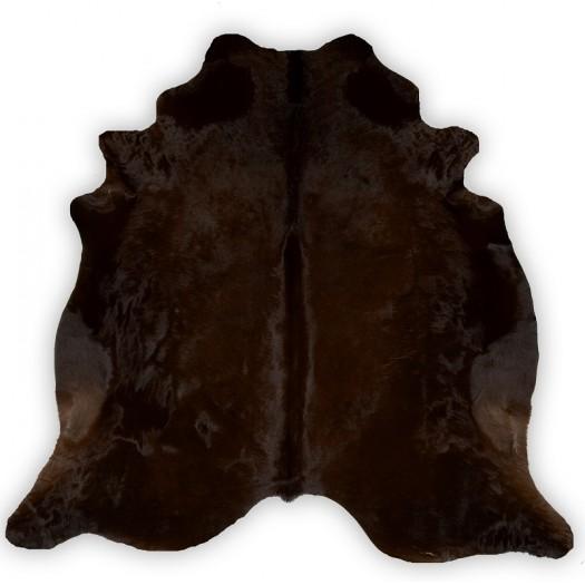 "Окрашенная коровья шкура Chocolate ""d-62"""